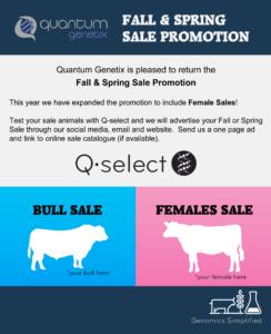 Fall & Spring Sale Promo ‹ Quantum Genetix